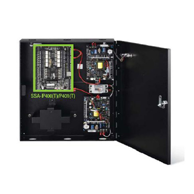 Hanwha Techwin America SSA-P420 50,000-user intelligent 4 doors access control panel