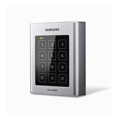 Hanwha Techwin America SSA-R2001V vandal resistant, water & dust resistant proximity / smart card & PIN reader