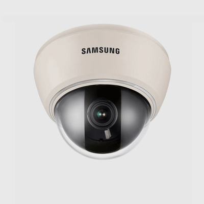Samsung SUD-2080 dome camera with SSDR compensation technology