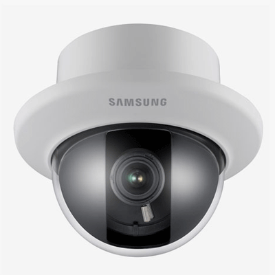 Hanwha Techwin America SUD-3080F dome camera with 3D filtering noise reduction technology