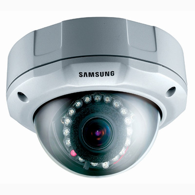 Samsung Techwin SCC-B9374 vandal resistant dome IR leds day & night camera with 540 TVL