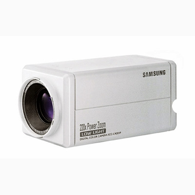 Samsung Techwin SCC-C4305 22X power zoom, day & night, WDR Camera with 480 TVL