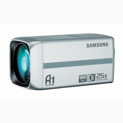 Samsung Techwin SCC-C4325 optical zoom lens camera with 600 TVL