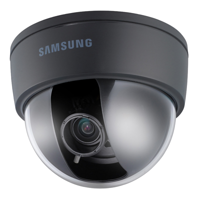 Black casing option for Hanwha Techwin America internal domes