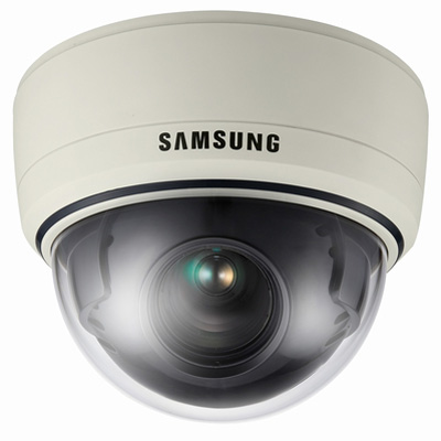 Samsung Techwin SID-370 high resolution interior dome camera with 37 x zoom