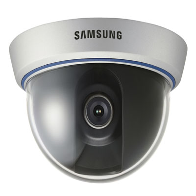 Samsung Techwin SID-56 1/3 High Resolution Mini Dome CCTV Camera with Built-in A/I fixed lens : 6 mm