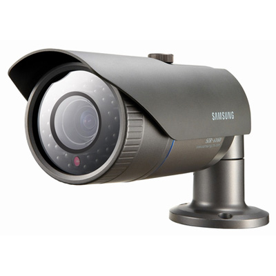Hanwha Techwin America Techwin SIR-4160 high resolution built-in varifocal lens black IR LED camera
