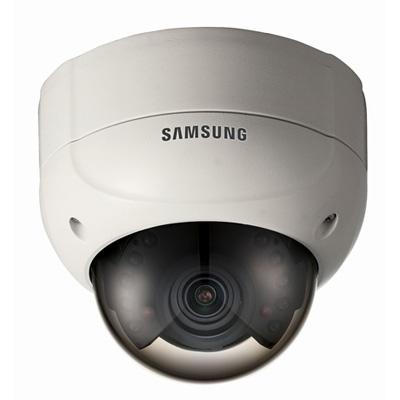 Hanwha Techwin America Techwin SIR-4260V high resolution IR LED vandal-resistant dome camera with 700 TVL