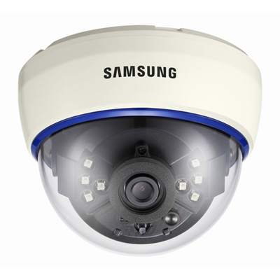 Hanwha Techwin America Techwin SIR-60 high resolution day & night IR LED dome camera with 700 TVL