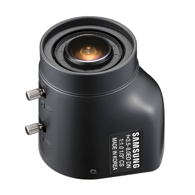 Hanwha Techwin America Techwin SLA-3580DN is a Quick & Easy CS-mount Varifocal Lense