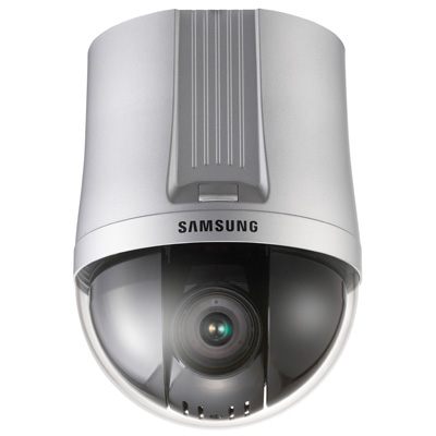 A new H.264 network dome camera from Samsung