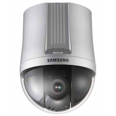 Samsung Techwin SPD-3700T low light high resolution PTZ dome CCTV camera