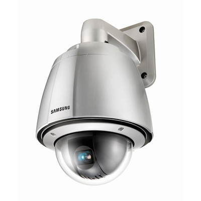 Hanwha Techwin America Techwin SPU-3750T high resolution WDR PTZ dome camera with 550 TVL