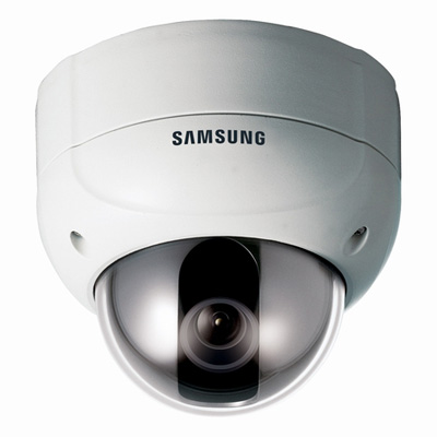 Hanwha Techwin America Techwin SVD-4300N high resolution 10x vandal resistant dome camera