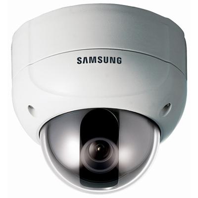 Hanwha Techwin America Techwin SVD-4400 high resolution, day/night vandal-resistant dome CCTV camera