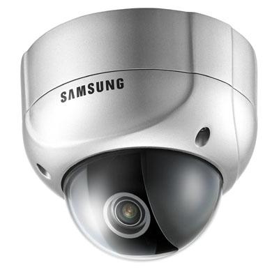 Samsung Techwin SVD-4600 1/3 High Resolution, WDR Vandal-Resistant Dome CCTV Camera