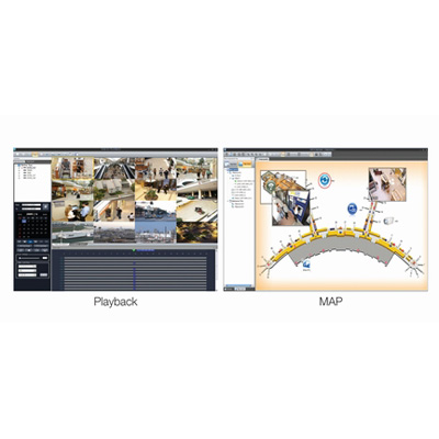Samsung Techwin SVM-S1 centralised video management software