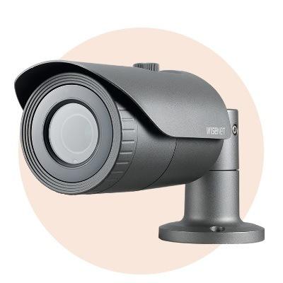 Hanwha Techwin America SCO-5083R 1280H Analogue IR Bullet