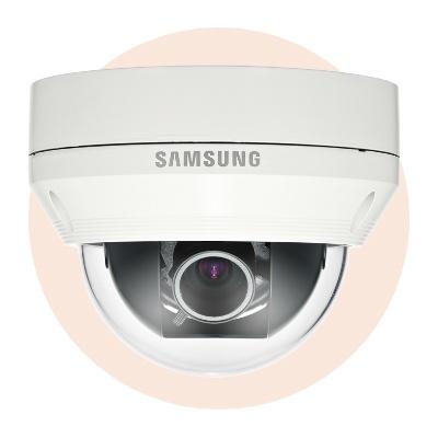 Hanwha Techwin America SCV-5082 1000TVL (1280H) Vandal-Resistant Dome Camera