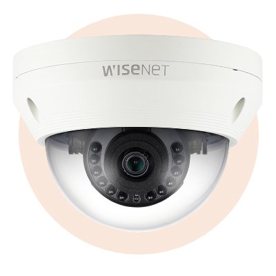 Hanwha Techwin America SCV-6023R 1080p Analogue HD Vandal-Resistant IR Dome Camera