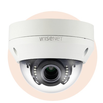 Hanwha Techwin America SCV-6083R 1080p Analogue HD Vandal-Resistant IR Dome Camera