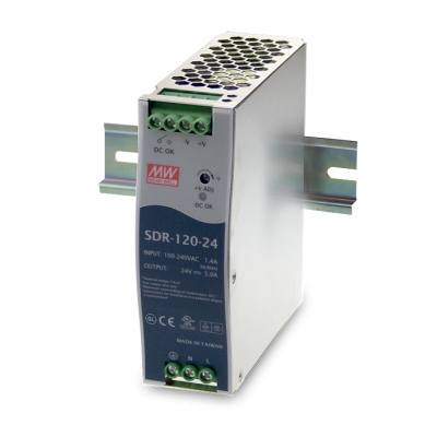 BCDVideo SDR-120-48 120W Single Output Industrial DIN RAIL With PFC Function
