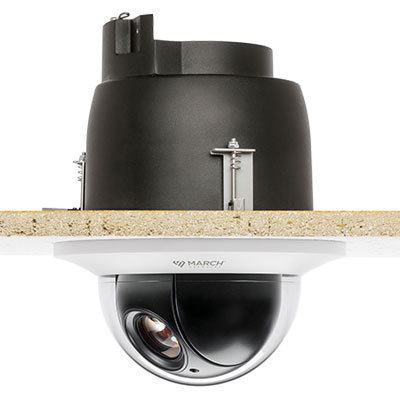 March Networks 36860-101 30x indoor PTZ flush IP dome camera