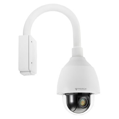 March Networks 36861-101 30x indoor/outdoor PTZ pendant IP dome camera