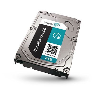 Seagate ST6000VX0011 6TB hard drive with rescue service plan