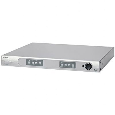 Siemens AX4 160/100 - an entry-level 4 Channel DVR with front panel control