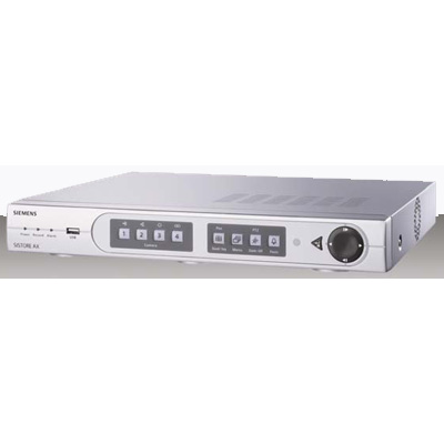 Siemens AX4 Lite 250/100 digital video recorder with recording speed up to 100 images per second
