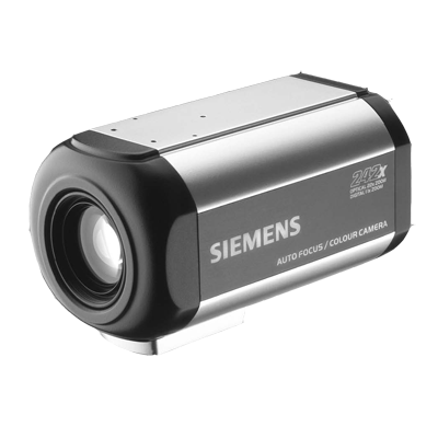Siemens CCAC1425-LPI CCTV camera with digital signal processing