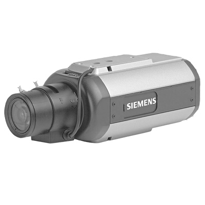 Siemens CCBS1345-LP 1/3-inch high-resolution dipswitch day/night colour camera with 480 TVL