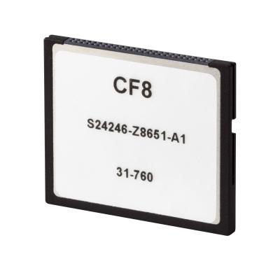 Siemens CF8 memory card