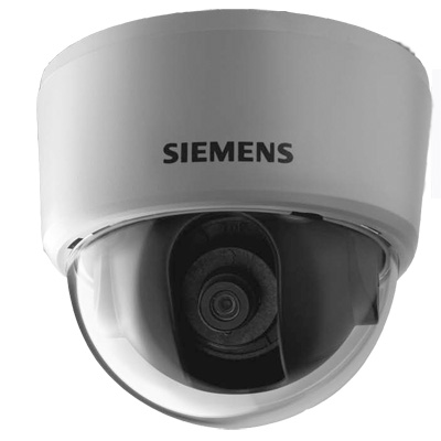 Siemens CFFC1317-LP fixed dome with monofocal lens with 540 TVL
