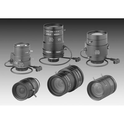 Siemens CLVD1315/5.0-50 1/3-inch varifocal lense with high quality glass optics