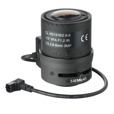 Siemens CLVD1316/2.8-8 1/3 auto-iris varifocal lens