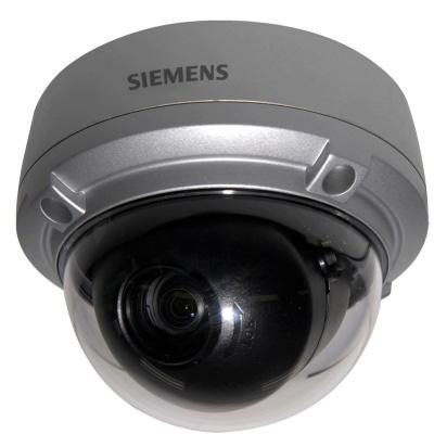 Siemens CVAW1417-LP 1/4 day/night dome camera