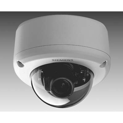 Siemens CVVB1315-LC vandal resistant dome with varifocal lens with 580 TVL