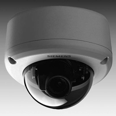 Siemens CVVS1317-LP vandal-resistant dome with varifocal lens and 540 TVL