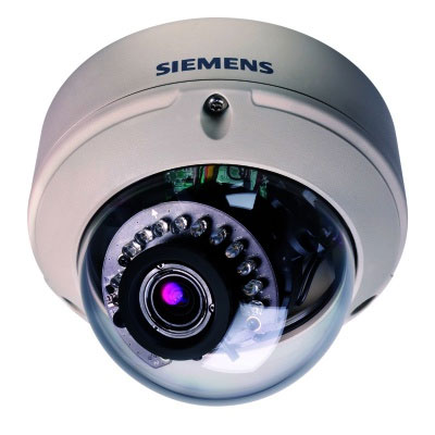 Siemens CVVS1317-LPOIR 700TVL analogue vandal fixed dome camera