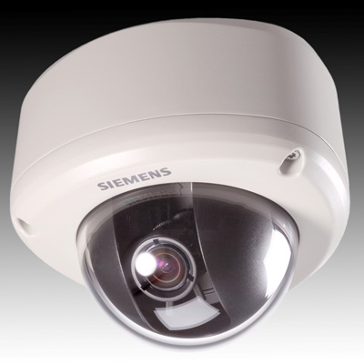 Siemens CVWC1325-LX 1/3-inch CMOS ultra wide dynamic vandal-resistant dome with 500 TVL