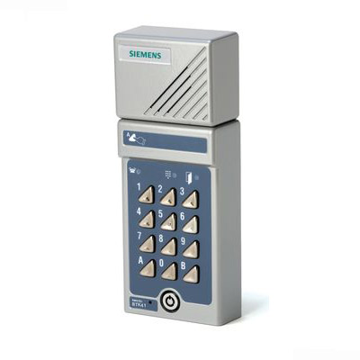 Siemens SI-BTK41 - traditional door phone with integrated codelock
