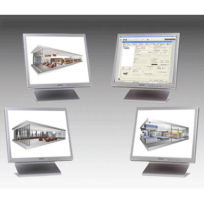 Siemens SISTORE MX 64 NVS CCTV software for visualization, recording and playback