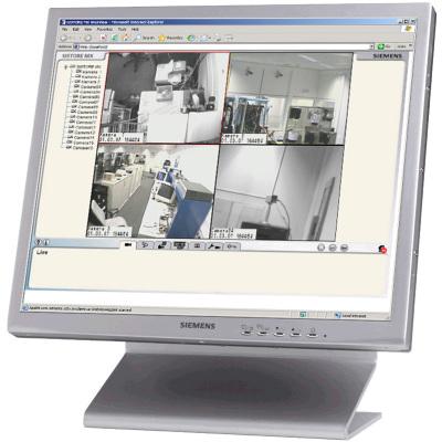 Vanderbilt SISTORE MX NVS 4 CCTV software
