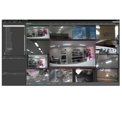 Siemens Vectis HX NVS 8 network video recording software