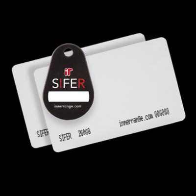 Inner Range SIFER-P Pre-programmed 'stock' Cards