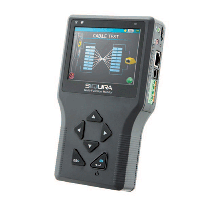 Siqura Multifunction Monitor for handheld camera viewing