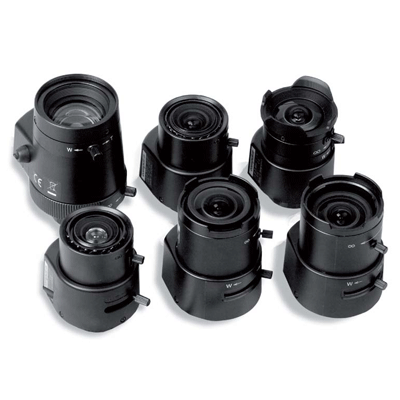 Siqura VL12 varifocal CCTV camera lens with CS mount