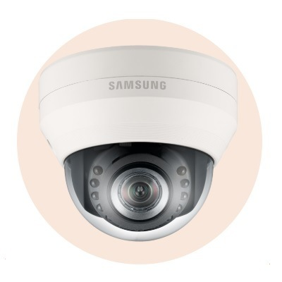 Hanwha Techwin America SND-5084R 1.3MP Network IR Dome Camera